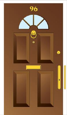 Attractive Reinforce A Wooden Door Against Kick In Attack